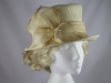 Failsworth Millinery Cream Wedding Hat